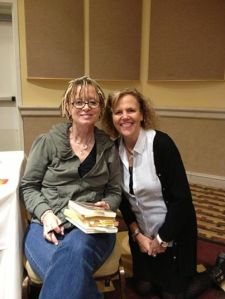 Anne Lamott and me at Bird by Bird & Beyond.
